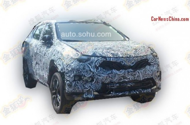 Spy Shots: SouEast R5 SUV testing in China