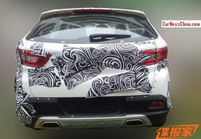 Spy Shots: SouEast R7 SUV testing in China
