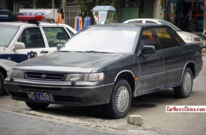 Spotted in China: first generation Subaru Legacy