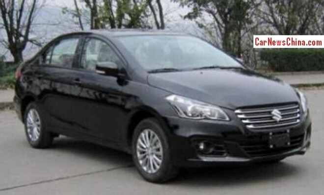 This is the Suzuki Alivio sedan for the Chinese car market