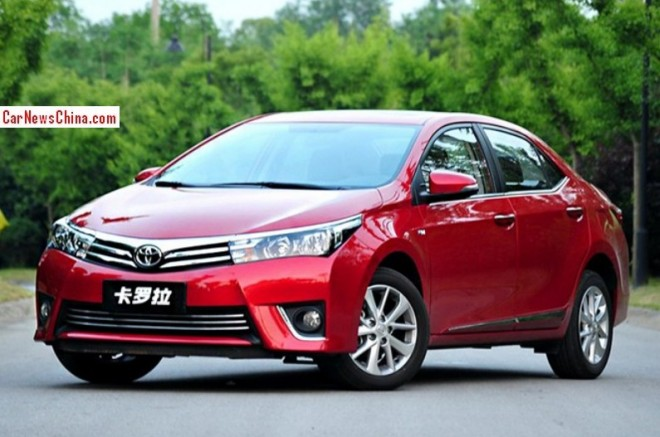 New Toyota Corolla will hit the Chinese auto market in September
