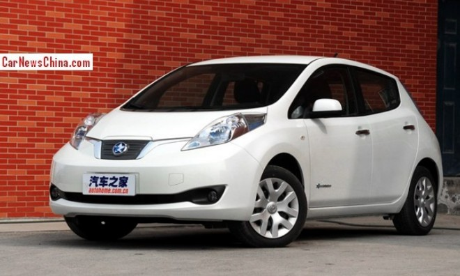 This is the Venucia e30 EV for the China car market