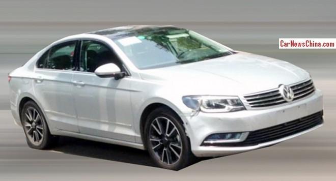 Spy Shots: Volkswagen NMC testing in China