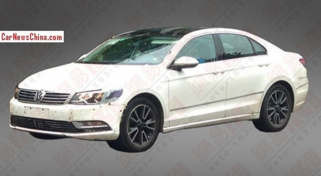 Spy Shots: Volkswagen NMC seen testing in China again