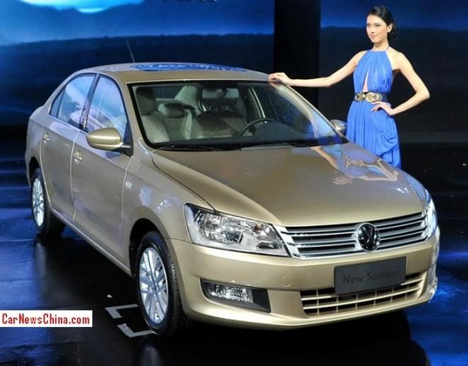 Volkswagen Santana to get Turbo Power in China