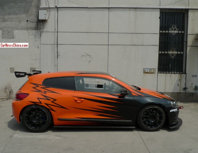 Spotted in China: Volkswagen Scirocco race car