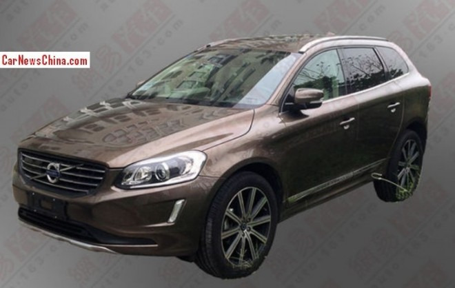 Spy Shots: China-made Volvo XC60 is almost Ready for the Chinese auto market