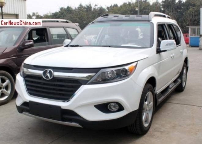 Spy Shots: Yema F16 SUV for the Chinese auto market