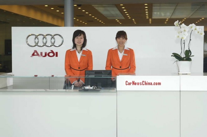 Audi sales in China up 17.8%
