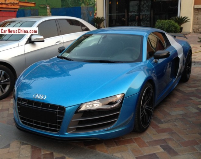 Spotted in China: Audi R8 China Edition