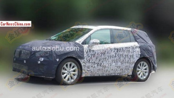 Spy Shots: Buick Anthem SUV seen testing in China