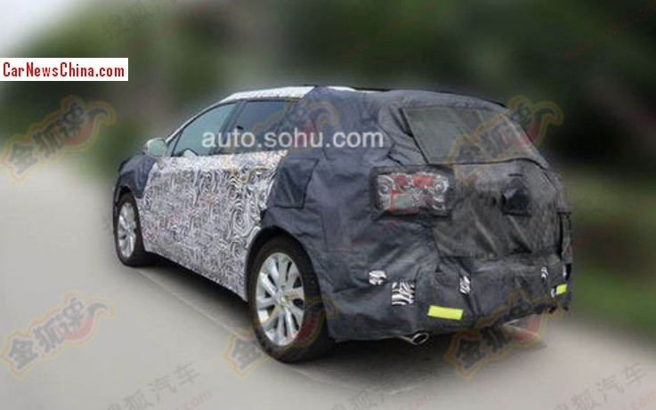 Spy Shots: Buick Envision SUV seen testing in China ...