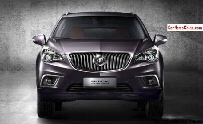 Leaked: official Pictures of the Buick Envision SUV for China