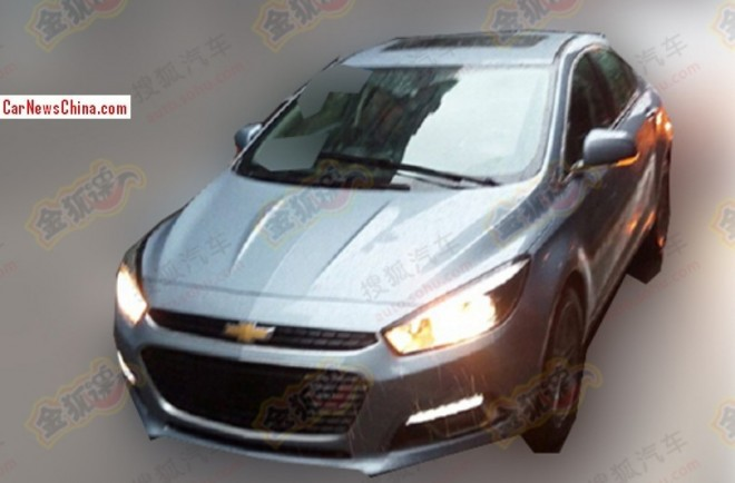 Spy Shots: Chinese Chevrolet Cruze testing in China