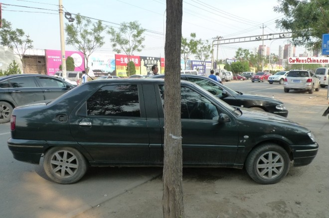 Spotted in China: Citroen Elysee VIP