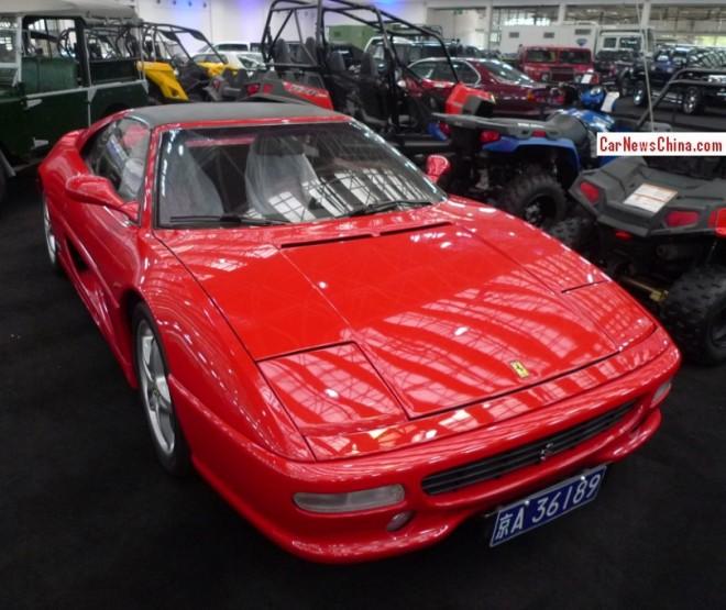 China Super Car Super Spot: Ferrari F355 GTS