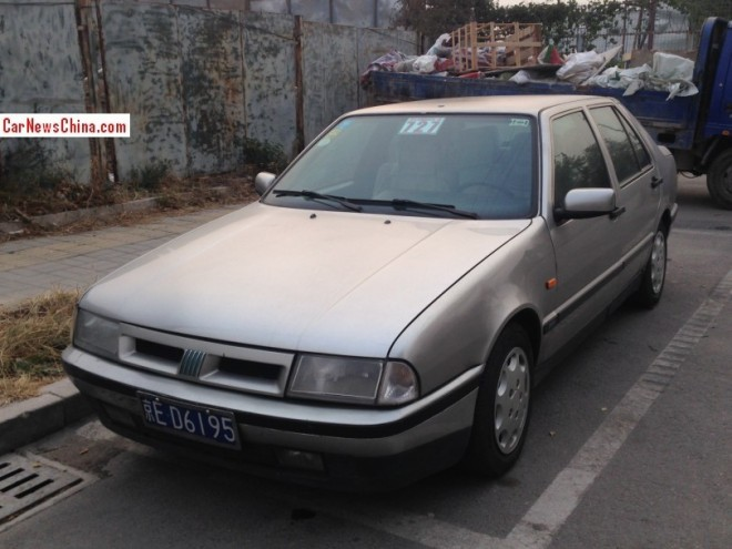Spotted in China: Fiat Croma 2.0 16V