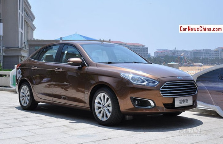 2014 - [Ford] Escort (Chine) - Page 2 Ford-escort-china-1