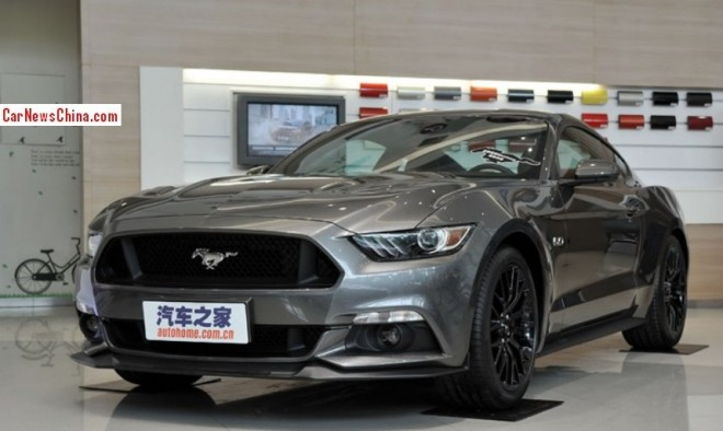 New Ford Mustang will Officially arrive in China in 2015
