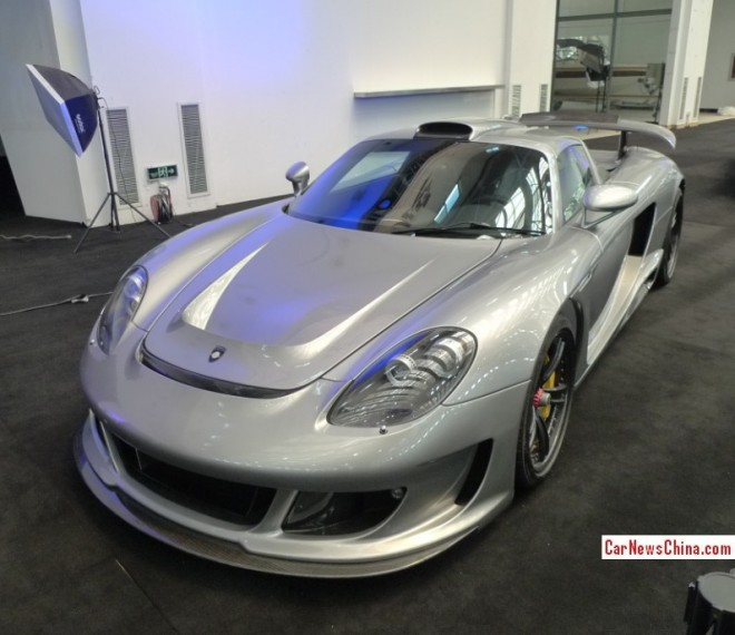 China Super Car Super Spot: Gemballa Mirage GT in silver