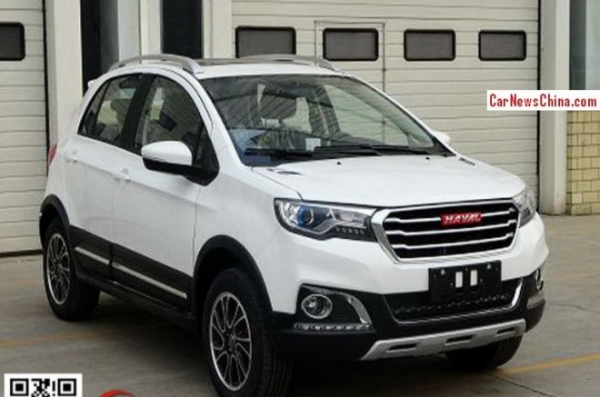 Spy Shots: Haval H1 is Naked in China