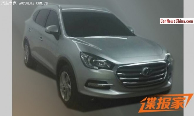 Spy Shots: JAC Refine S7 SUV for the Chinese auto market