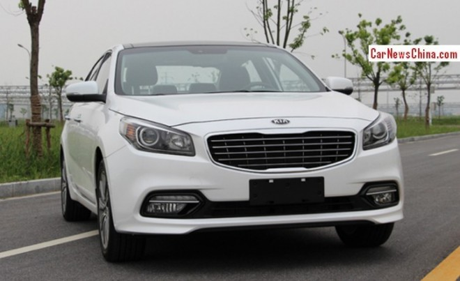 Kia K4 is Naked from all Sides in China