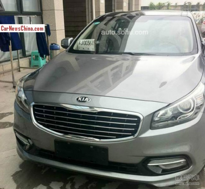 Spy shots: Kia K4 is almost Ready for the Chinese car market