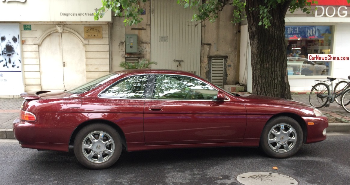 Spotted In China Lexus Sc400 In Wine Red Carnewschina Com