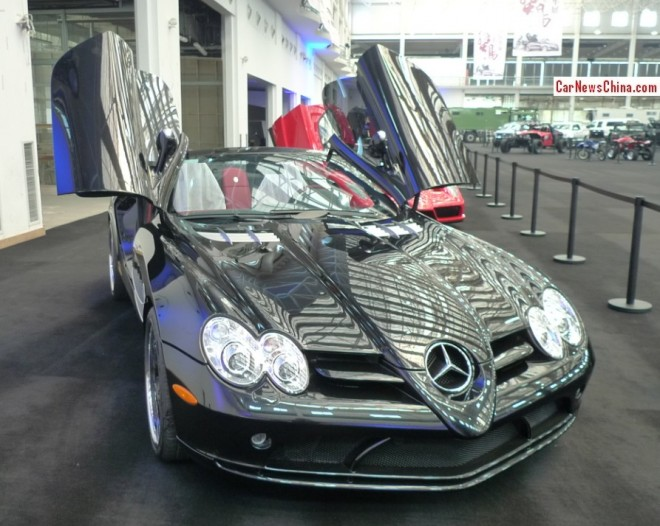 China Super Car Super Spot: Mercedes-Benz SLR McLaren Roadster