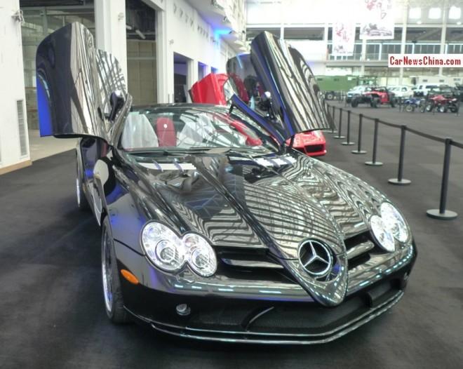 China Super Car Super Spot: Mercedes-Benz SLR McLaren Roadster