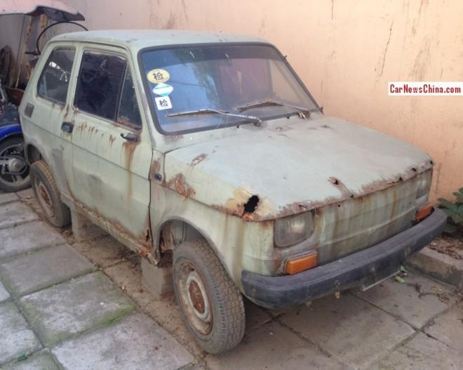 Spotted in China: Polski Fiat 126P