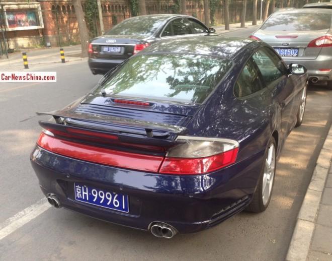 Porsche 911 with Licenses in Shanghai & Beijing, Part II