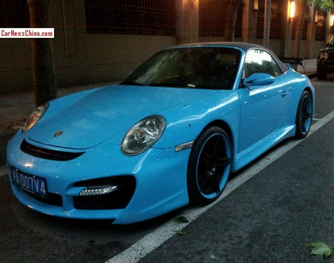 Spotted in China: TechArt GTstreet Cabriolet
