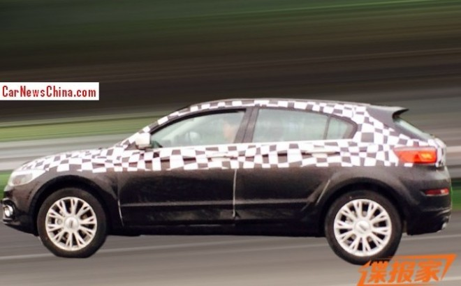 Spy Shots: Qoros 3 Cross testing in China