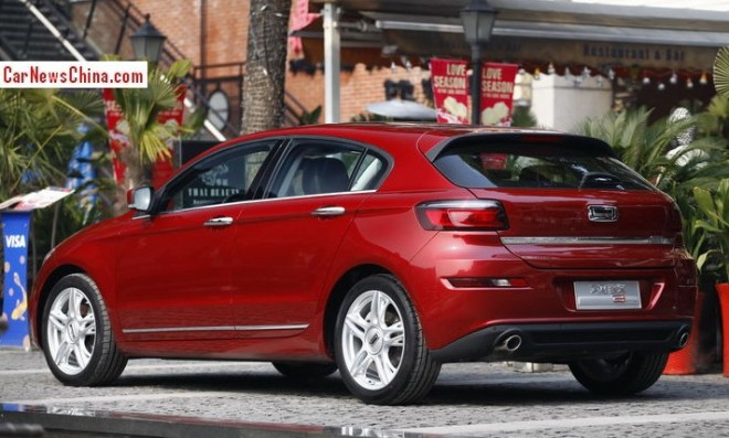 Qoros 3 Hatch hits the Chinese auto market