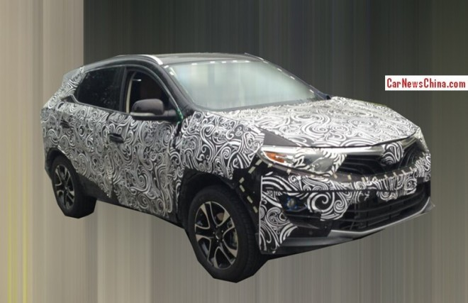 Spy Shots: SouEast R7 SUV seen testing in China