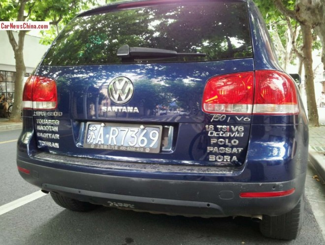 Volkswagen Touareg is a lot of Other Cars in China