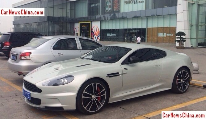 spotted in china aston martin dbs ultimate carnewschina com rh carnewschina com