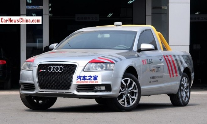 Meet the Audi A6L pickup truck from China