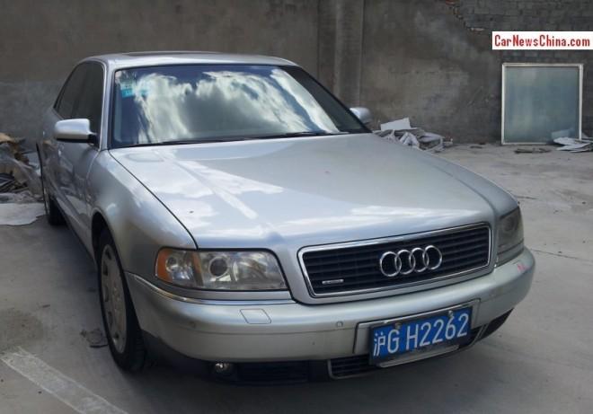 Spotted in China: D2 Audi A8L 4.2 Quattro