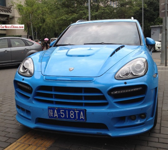 Spotted in China: Hamann Guardian EVO