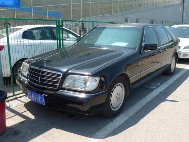 Spotted in China: a perfect W140 Mercedes-Benz S500