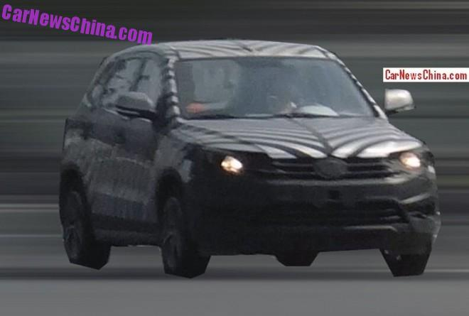 Spy Shots: Besturn X60 SUV testing in China