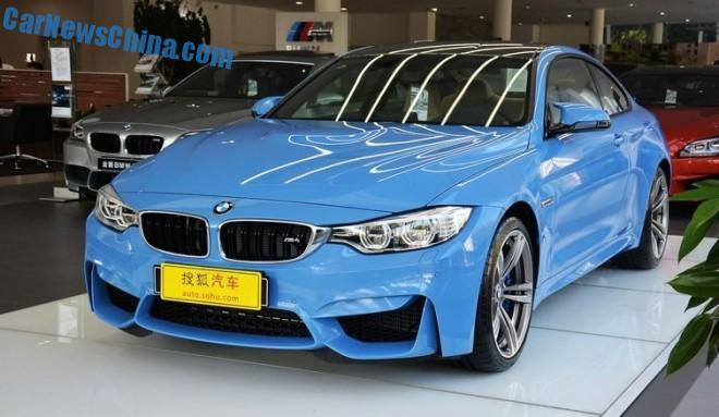BMW M4 & M3 launched on the Chinese auto market
