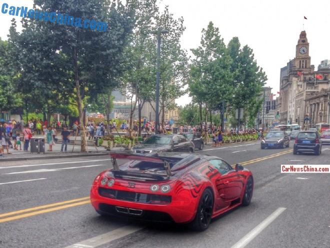 More on the Mysterious Bugatti Veyron in Shanghai