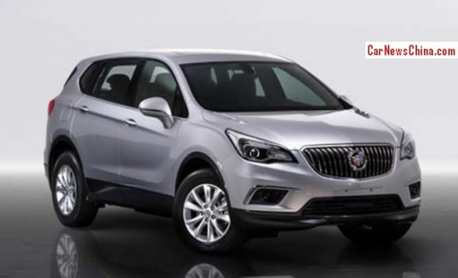 Spy Shots: Buick Envision SUV leaks again in China