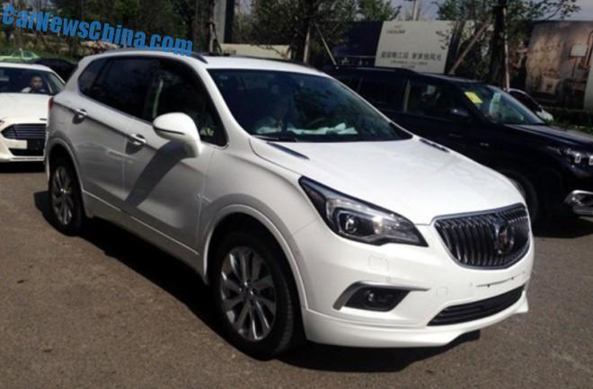 Spy Shots: Buick Envision is Naked in China