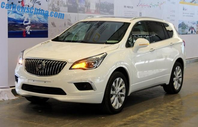 Spy Shots: Buick Envision SUV is Naked from al Sides in China