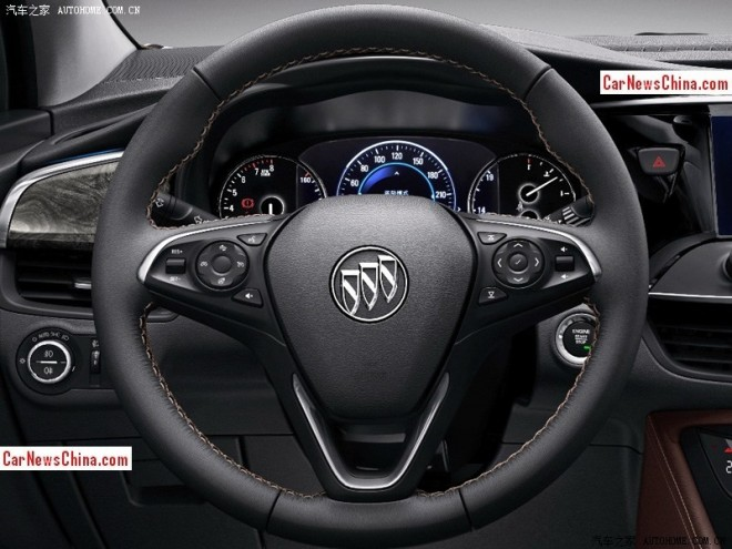 Teased: this is the interior of the Buick Envision SUV for China
